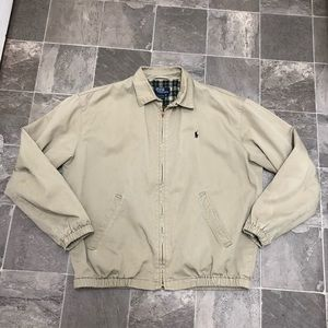 Men's vintage polo Ralph Lauren Harrington jacket